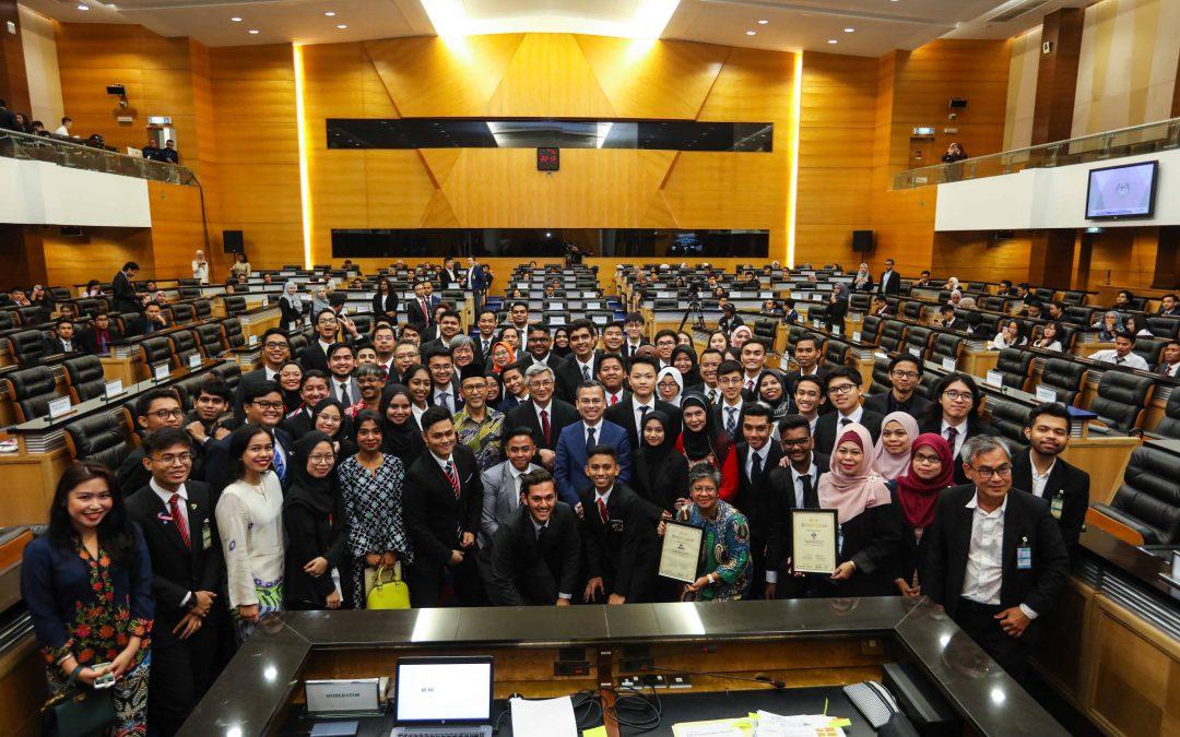 'Debat Parlimen 2019' yang dianjurkan oleh MalaysiaKini dengan kerjasama Parlimen Malaysia 7/9/2019