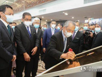 """Majlis Perasmian Perpustakaan Parlimen Malaysia dan Pameran """"Parlimen: Citra Perundangan Malaysia"""""""